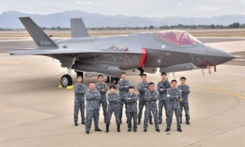 Japanese F-35 fighter crashes while flying over Pacific Ocean