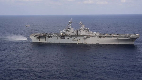 The US sailed an F-35-laden amphibious assault ship through the disputed South China Sea