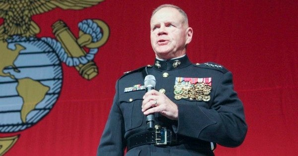 Marine Commandant: Border deployments aren't hurting readiness, even though I said they would