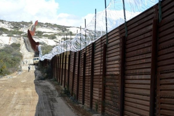 The Army just awarded $976 million in contracts for border wall construction