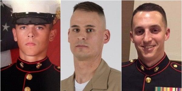 DoD identifies three Marines killed in Afghanistan