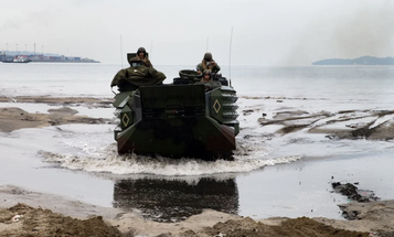 US and Philippine troops are training to repel an island invasion amid South China Sea tensions