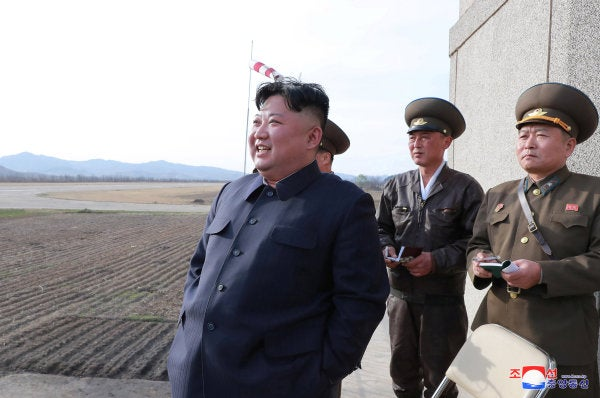 North Korea announces test of new 'tactical guided weapon'