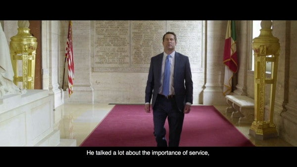 Iraq war veteran and former Marine infantry officer Rep. Seth Moulton is running for president