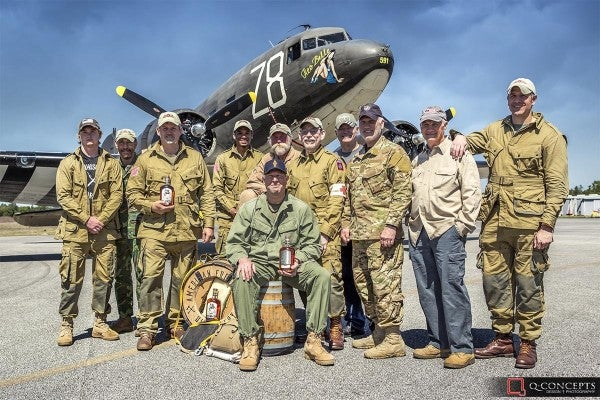 The soldiers who inspired '12 Strong' are honoring D-Day heroes with a special parachute jump