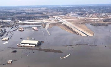 We salute the retired Air Force officer who commandeered a limo to save historical artifacts as floodwaters engulfed Offutt AFB