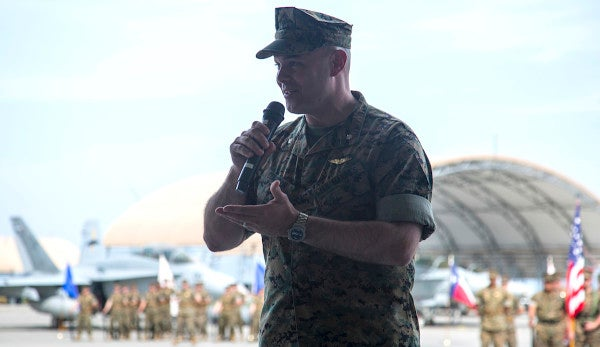 Marine fighter squadron commander relieved for fatal mid-air refueling crash