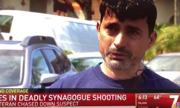 'I never thought I'd hear gunfire again' — Iraq War veteran recounts moment he rushed synagogue shooter