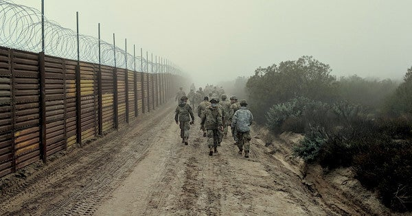 The FBI is reportedly investigating activists for plotting an 'armed rebellion' at the US-Mexico border with cartel-supplied guns