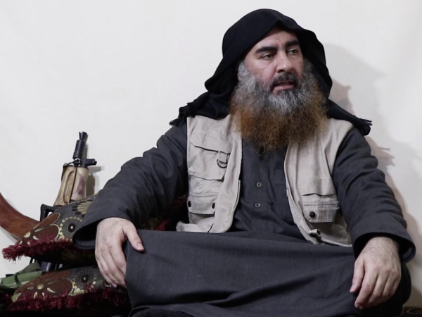 ISIS leader Abu Bakr Al-Baghdadi makes his first video appearance in 5 years to gloat about the Sri Lanka bombings