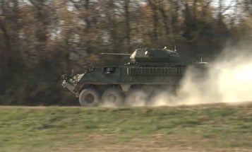 The Army's up-armored Strykers are now getting extra firepower to match