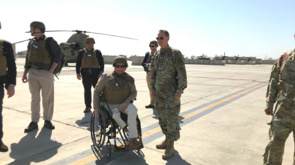 15 years after her Blackhawk was shot down, Tammy Duckworth finds an Iraq 'on the precipice'