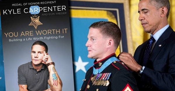 Medal of Honor recipient Kyle Carpenter is coming out with a book he says 'will truly help people'