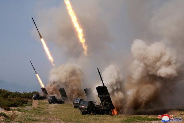 Kim Jong Un personally oversaw North Korea's test of multiple rocket launchers