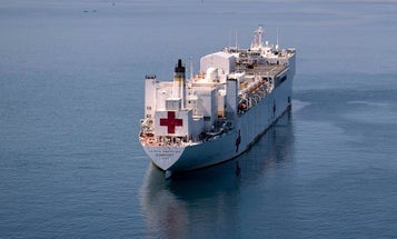 Navy hospital ship Comfort is leaving NYC after treating just 179 patients in 3 weeks
