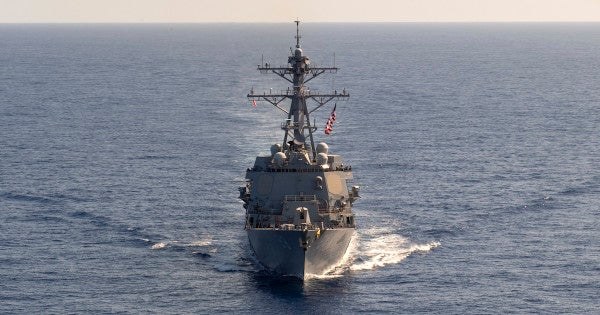 US destroyers sail through disputed South China Sea in yet another message to Beijing