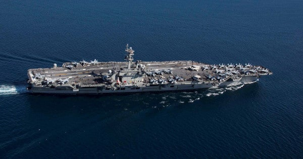 Bolton: the US is deploying a carrier and bombers to the Middle East to deter Iran with 'unrelenting force'