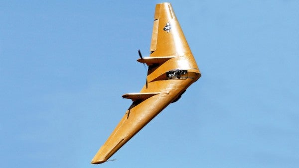 This WWII-era flying wing crashed in a California prison yard after doing a 'barrel roll,' according to the NTSB