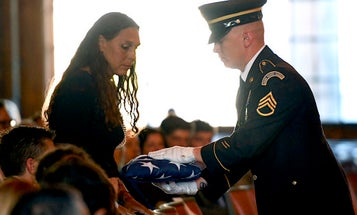 The ROTC cadet who sacrificed himself to stop the UNC Charlotte shooting receives a hero's farewell