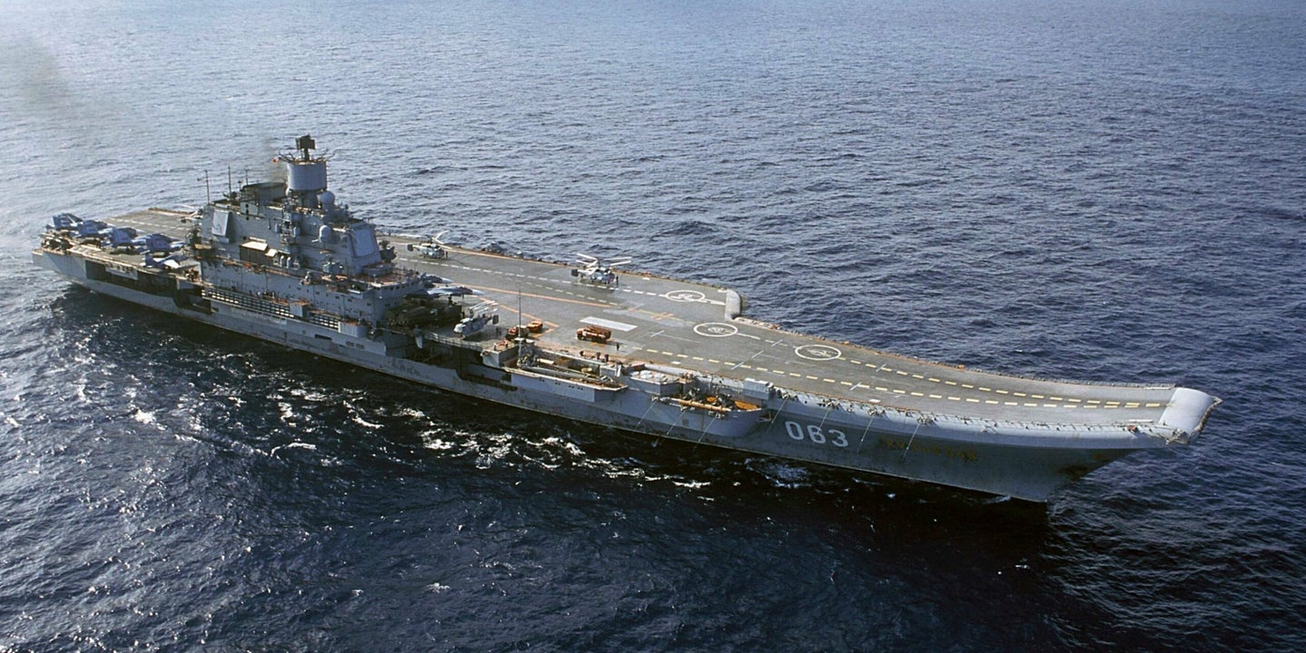 Russia is planning to build its first nuclear-powered aircraft carrier after breaking its only existing garbage flattop