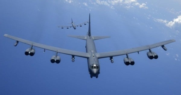 US B-52 bombers just rolled up in the Middle East in a message to Iran