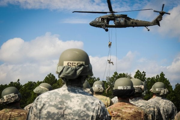 Fort Bragg's air assault school is shutting down
