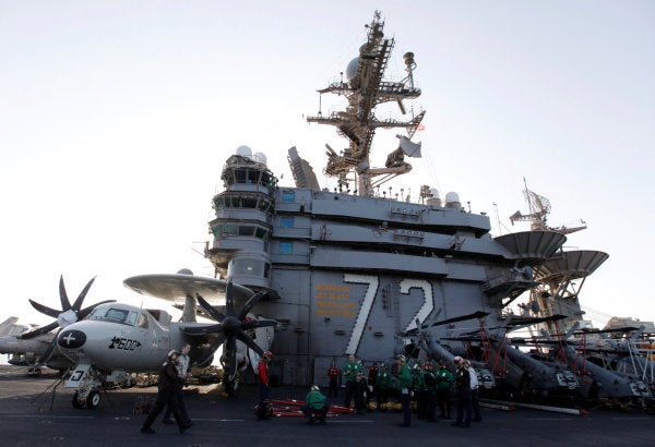 The White House's military options on Iran reportedly include a 120,000-troop deployment