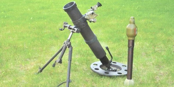 Russian soldiers are officially rocking a 'silent' mortar system