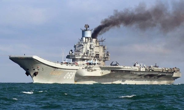 Russia is refusing to give up on its godawful sh*theap of an aircraft carrier