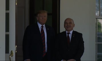 Asked if the US is going to war with Iran, Trump says, 'Hope not'