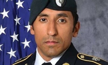'I am so very sorry that your family will now have to hurt in a similar way as I have,' Green Beret's widow tells Navy SEAL who helped kill her husband