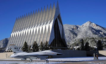 Air Force Academy special operations pilot accused of raping child under the age of 12