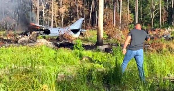 Marine Corps aircraft crashes in North Carolina