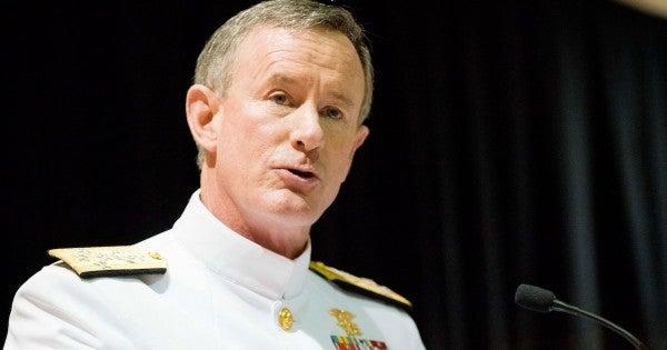 Retired U.S. Navy Admiral William McRaven