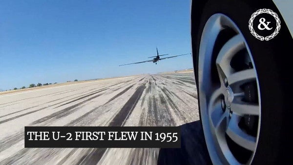 What it takes to fly the U-2 spy plane at the edge of outer space