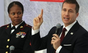 Disgraced Missouri Gov. Eric Greitens is returning to the Navy, but he won't be a SEAL again