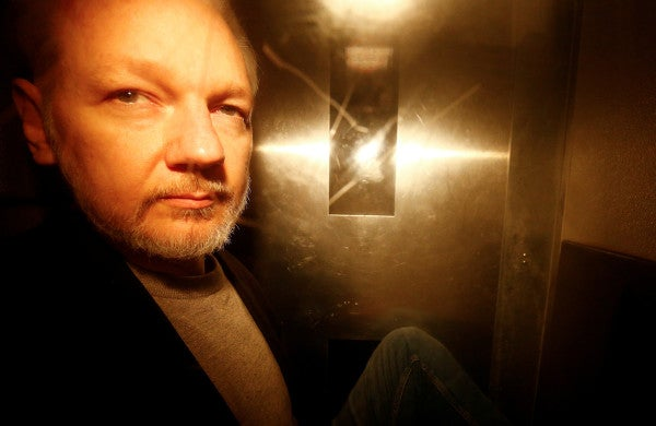 US charges WikiLeaks founder Julian Assange with espionage