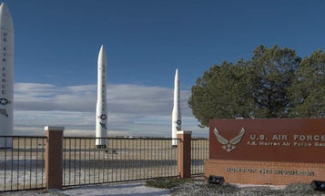 Airmen caught boozing at launch alert facility for nuclear Minuteman ICBMs