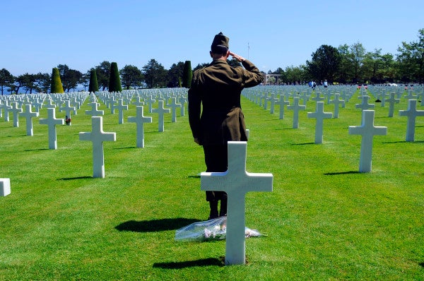 Hundreds of thousands of U.S. service members are buried far from home