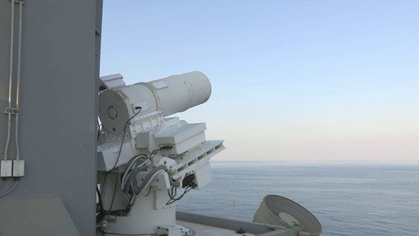 One lucky destroyer crew will officially be the first to rock the Navy's newest laser weapon