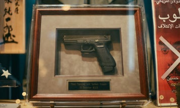 At 1,200 rounds per minute, this full-auto Glock was Saddam Hussein's weapon of choice