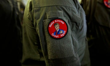 The Navy is investigating sailors for rocking 'Make Aircrew Great Again' patches during Trump's Japan visit