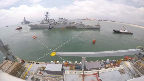 The White House reportedly asked the Navy to hide the USS John S. McCain during Trump's Japan visit
