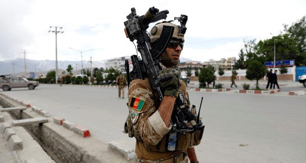 ISIS claims responsibility for blast at Afghan military training center in Kabul
