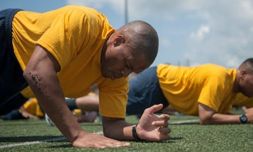 The Navy will soon require sailors plank hard to prove their mettle