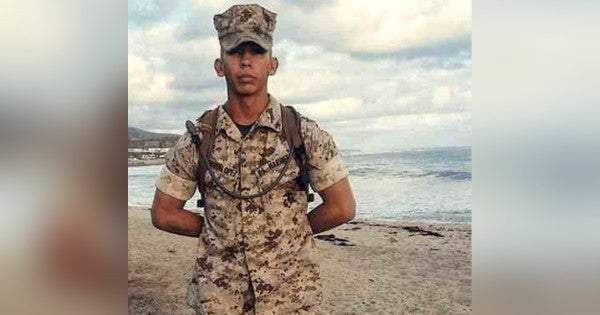 Two gang members convicted in 2016 killing of US Marine in Los Angeles