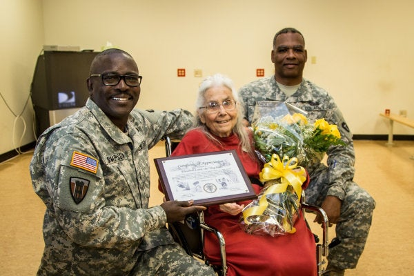 Tens of thousands sign petition to honor Fort Hood's 'Hug Lady,' who welcomed troops home
