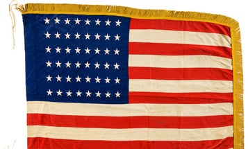 You can now own a battle-scarred American flag that US troops planted on Omaha Beach on D-Day