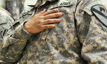 Active duty is rotting soldiers' hearts, study says