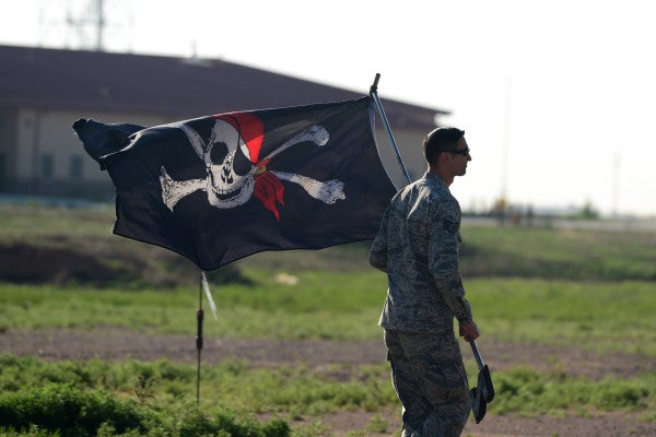 It's not just the Confederate flag: the Pentagon's new ban may apply to the Jolly Roger